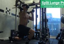 足が速くなる全身運動トレーニング「スプリットランジプレス」