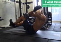 【シックスパックへの近道】高強度腹筋トレーニング「ツイストクランチ」